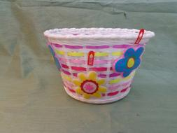 Schwinn Girls Front Bicycle Lighted 3 Daisy Basket.