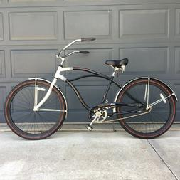 glide deluxe 26 men s beach cruiser
