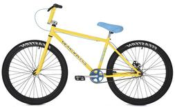 "Eastern Bikes Growler Limited 26"" Cruiser Bike, Yellow, 14.5"