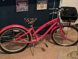 Hello Kitty Adult Limited Edition Nirve Cruiser Bike. Condit