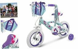 "Huffy 12"" Glimmer Girls Bike, Sea 12 inch wheel Sea Crystal"