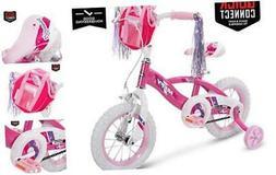 Huffy Glimmer Girls Bike, Fast 12 inch wheel Pink Quick Conn