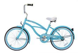 "Micargi JETTA-F-BBL Women's 20"" Beach Cruiser Bicycle Bike,"