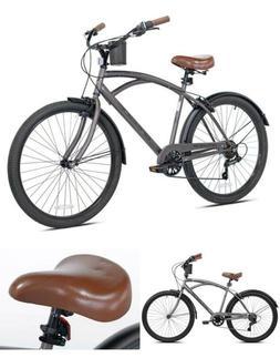 "Kent 26"" Bayside Mens Cruiser Bike, Satin Cocoa"