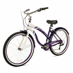 Kent Oakwood 26-Inch Ladies and Men's Cruiser Bicycle in Pur