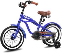 "Kids Cruiser Bike w/Training Wheels for Ages 2-6 Years 12"" 1"