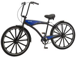 "Schwinn Kokomo 27.5"" Men's Cruiser Bike-Black/Blue"