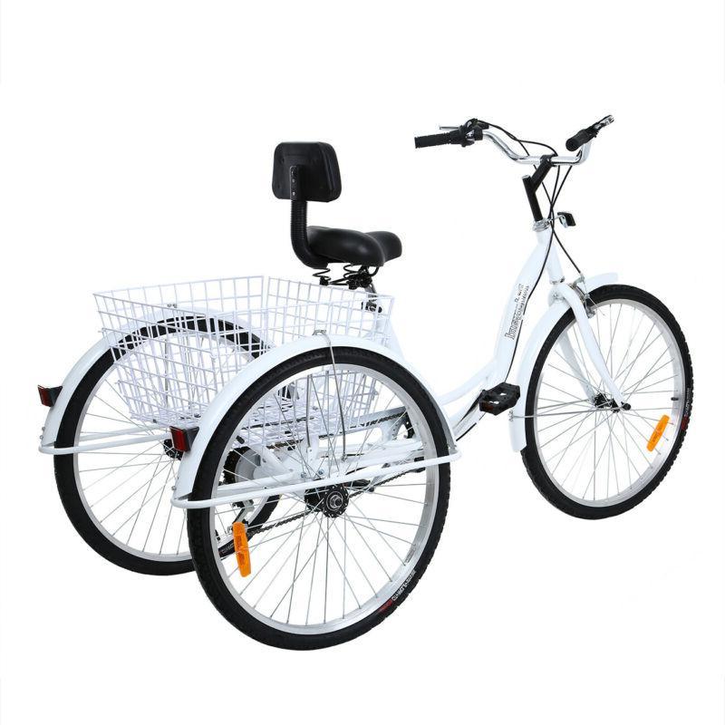 Ridgeyard 3-Wheel Bicycle Bike