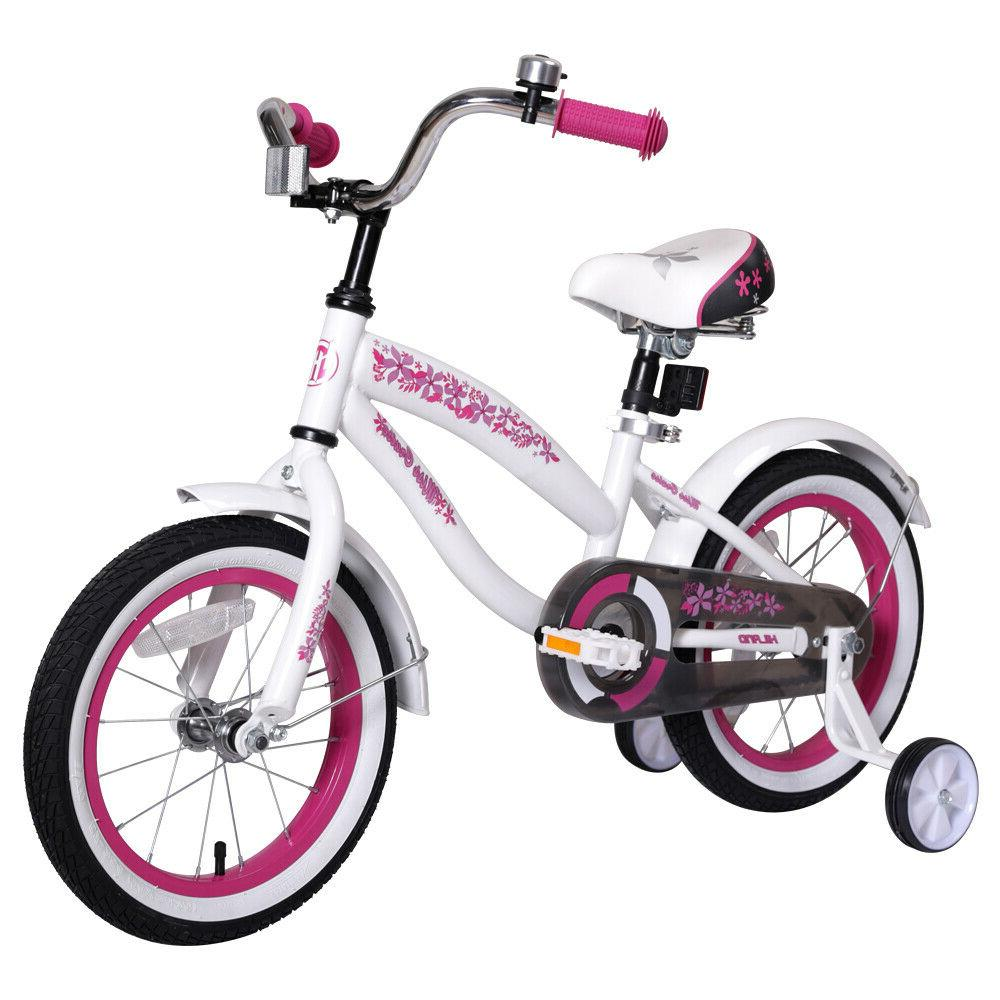 JoyStar 14 Inch Kids for Girls with Trainning Wheels and bell