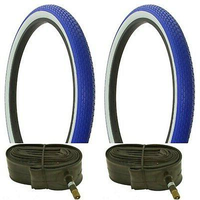 2 tire 26 x2 125 blue white