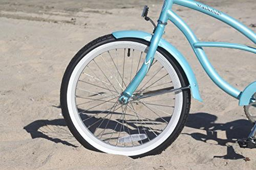 Girl's Cruiser Bicycle, Baby Blue