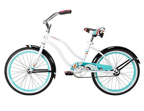 Huffy 23555 Girls Good Bike, White Beach,