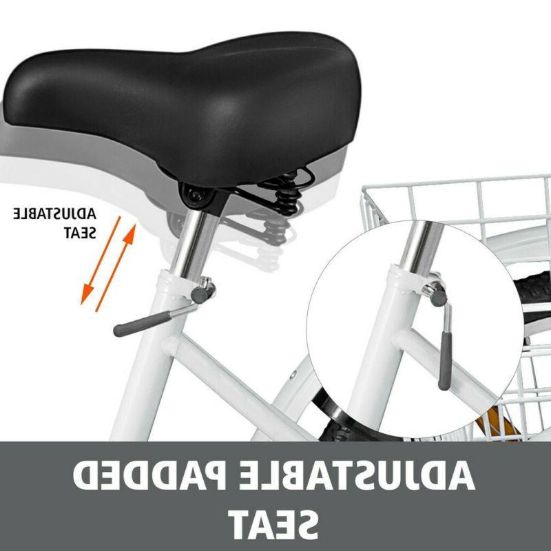 """24""""/20"""" Trike Cruiser Bicycle for Shopping Trike"""
