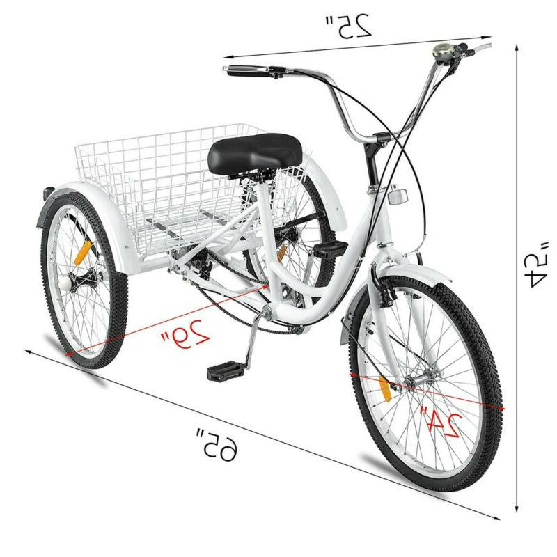 Trike Cruiser w/Basket for