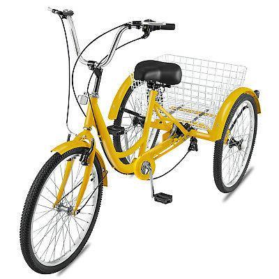 "Adult 20"" 3-Wheel Trike Cruiser Basket"