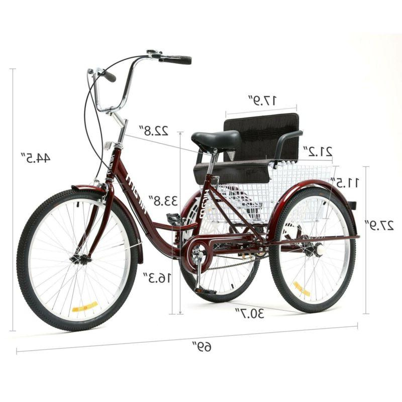 """24"""" Tricycle Wheel Seat"""