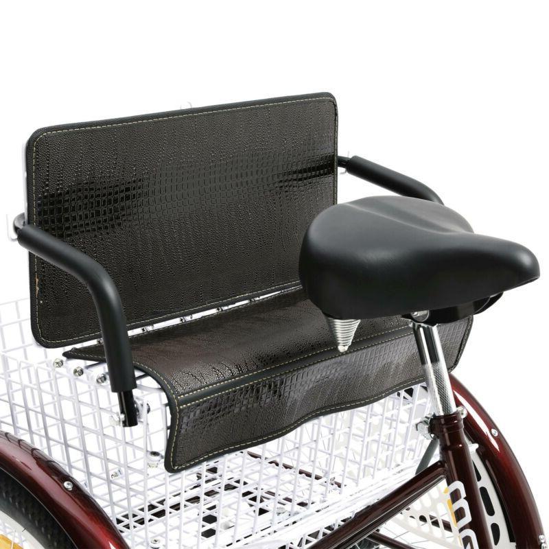 "24"" Three Wheel Trike with Rear Seat"