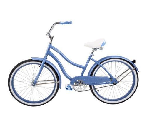 "Huffy 24"" Cranbrook Comfort Periwinkle Blue"