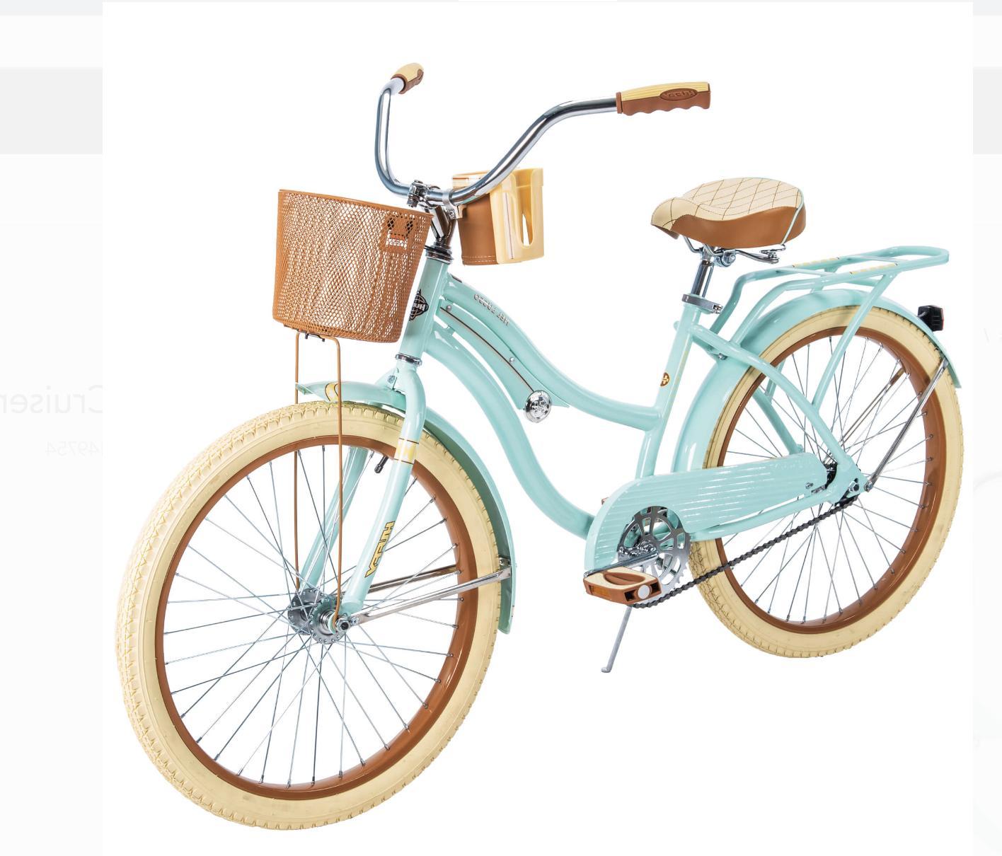 Huffy Nel Girls' Cruiser Bike, Green Free