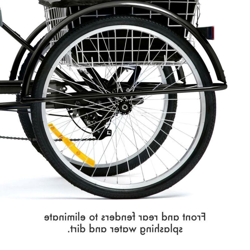 Trike Cruiser Bicycle w/Basket for
