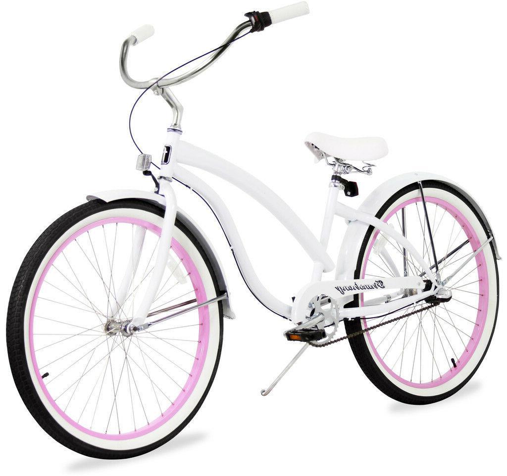 26 3 speesd women beach cruiser bike
