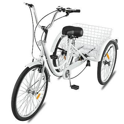 "24""Adult Bicycle Trike &"