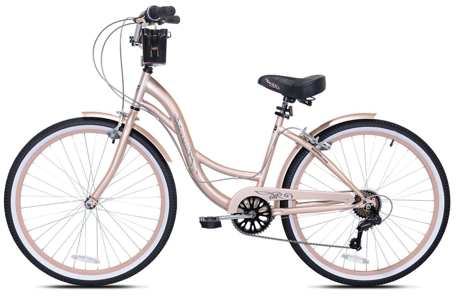"Kent 26"" Women's Cruiser Bike, Gold"