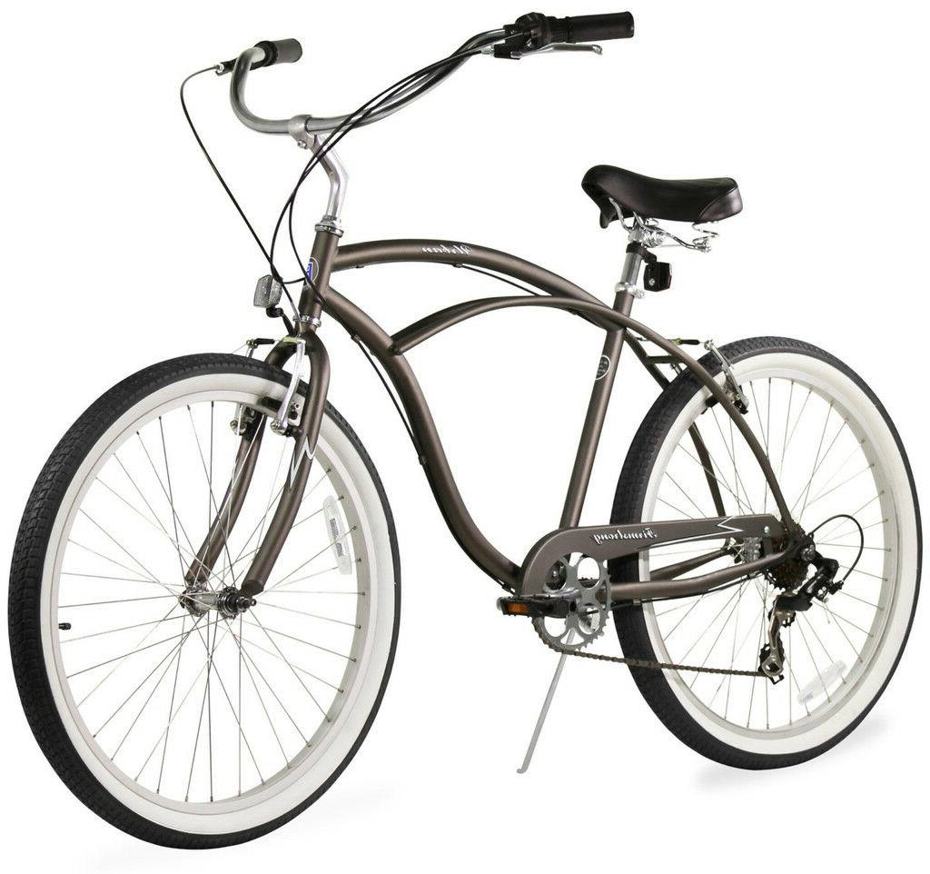 "26"" Beach Bike Bicycle Urban 7"
