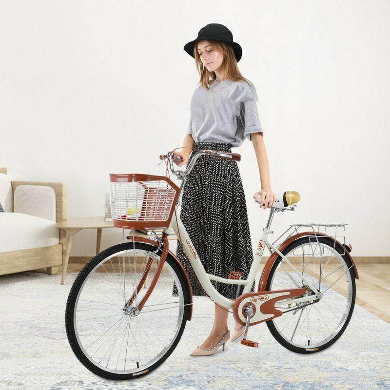 """26"""" Beach Cruiser Bike Bicycle Firmstrong Urban Women Classi"""