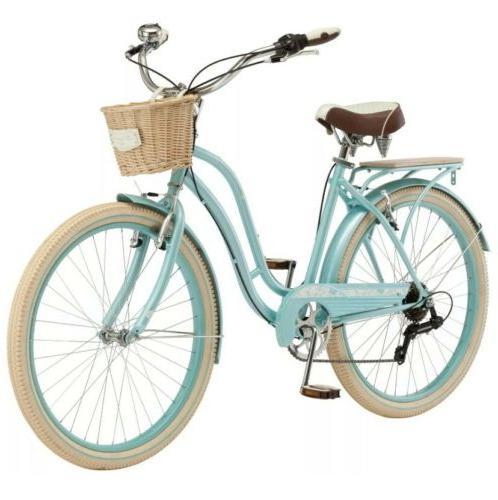 "26"" Schwinn 7-speed Cruiser Shimano Foam Bicycle"
