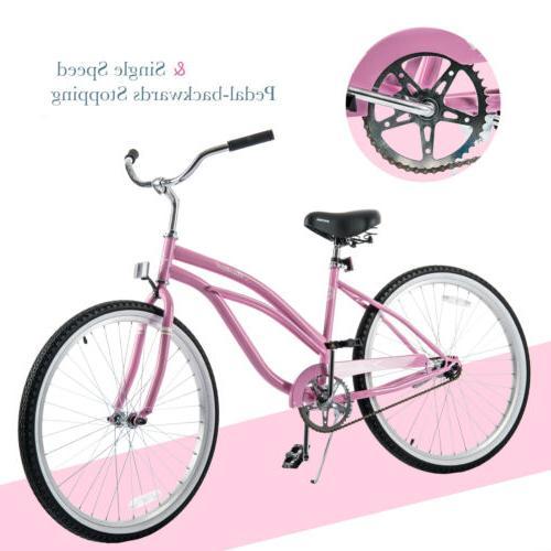 """26"""" Classic Beach Cruiser Bike Road Bicycle Colors"""