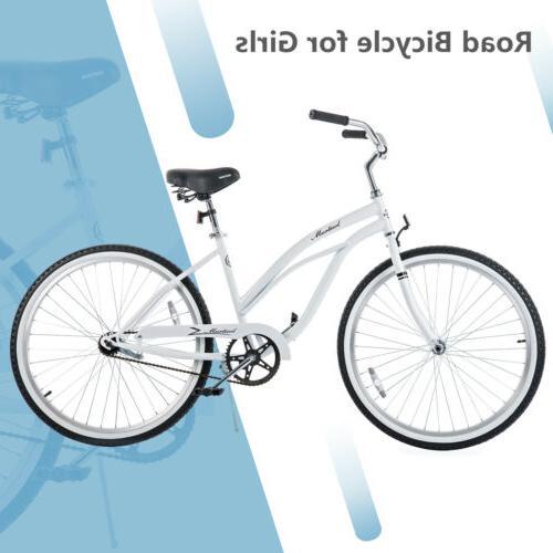 "26"" Girl's Cruiser Bike Speed Road Colors"