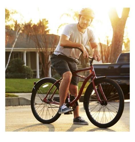 Huffy Cranbrook Beach Cruiser Comfort Bike Men, in Box