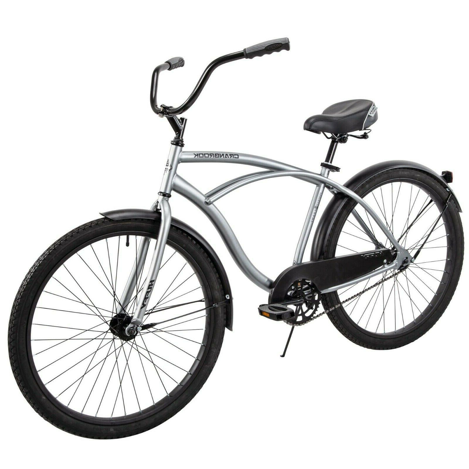 Beach Cruiser Bike Mens 26 Inch Perfect Fit Frame Aluminum C