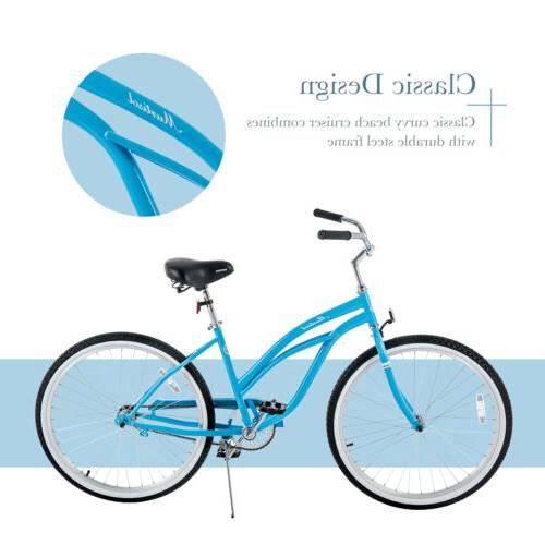 "26"" Girl's City Bicycle Classic Bike Single"
