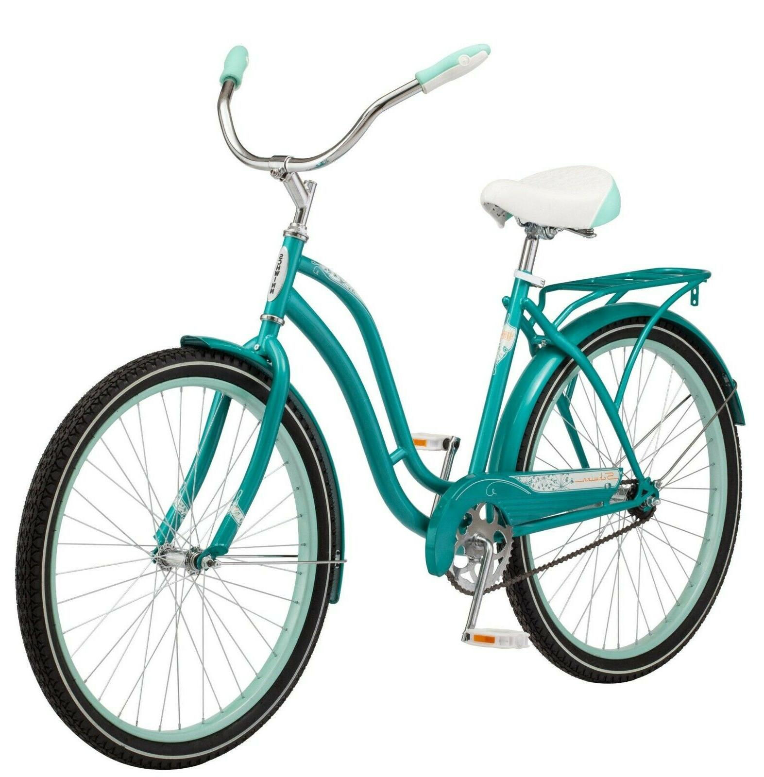 "Schwinn 26"" Cruiser Bike, Teal In Hand! Ships"