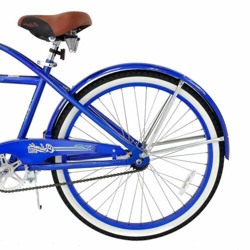 Men's Columbia Beach Cruiser Bike Vintage Bicycle Blue