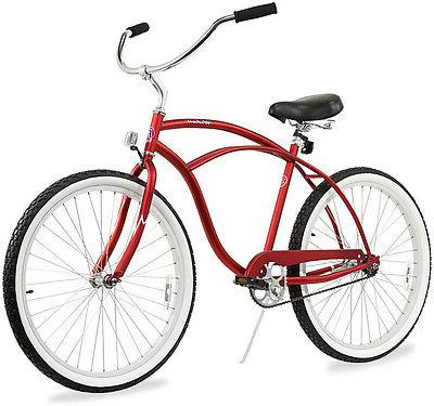 "26"" Men Bicycle Bike Urban Chrome"