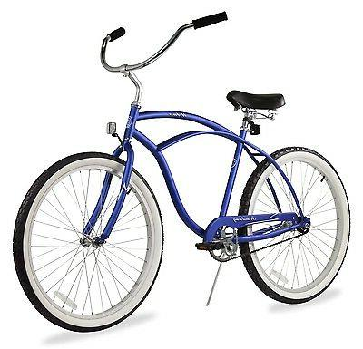 "26"" Men Beach Bicycle Chrome"