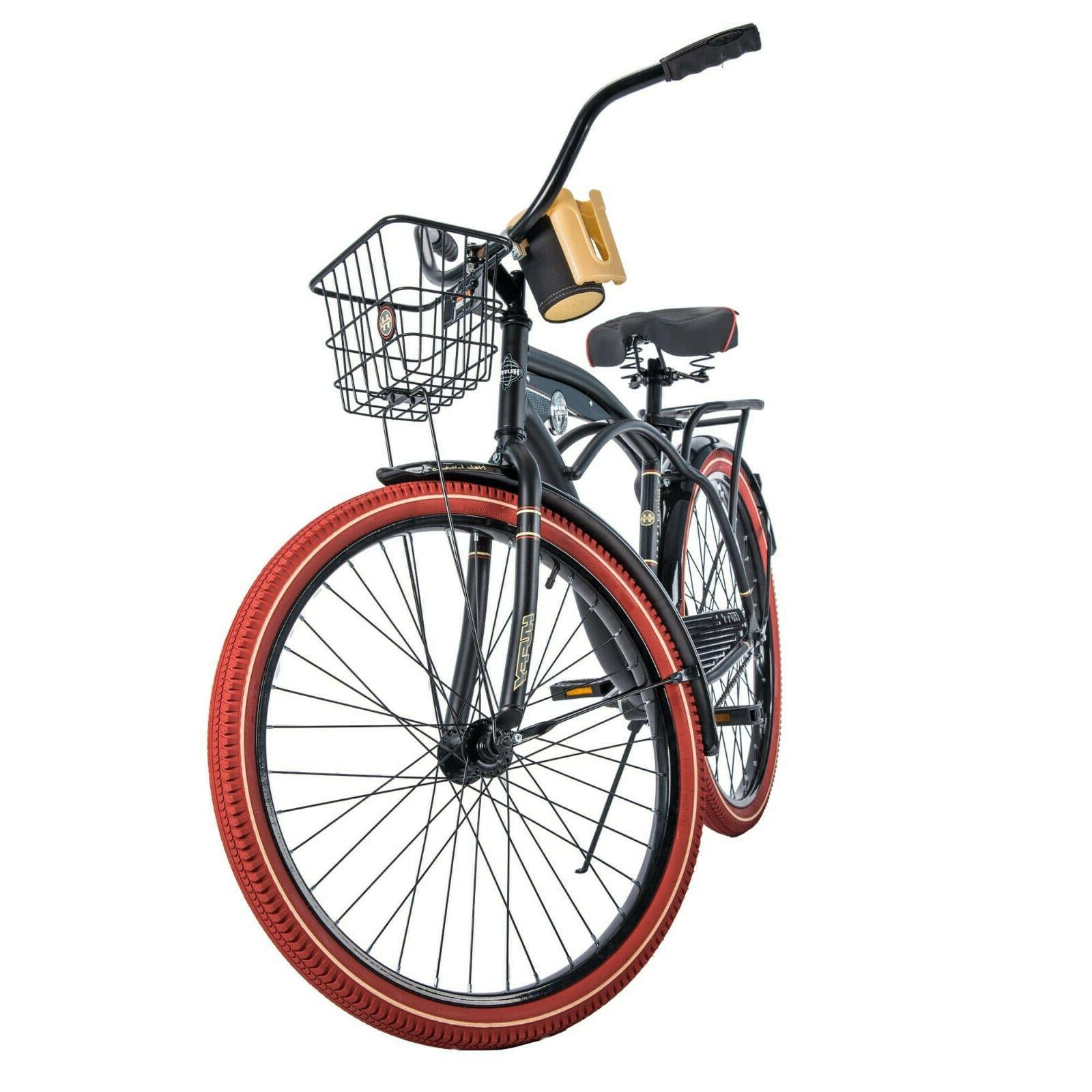Huffy Nel Lusso Cruiser with Fit Frame