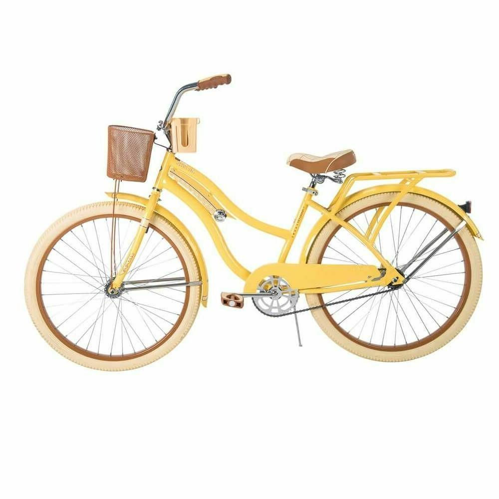 Huffy Nel Women Cruiser Perfect Frame,Yellow free