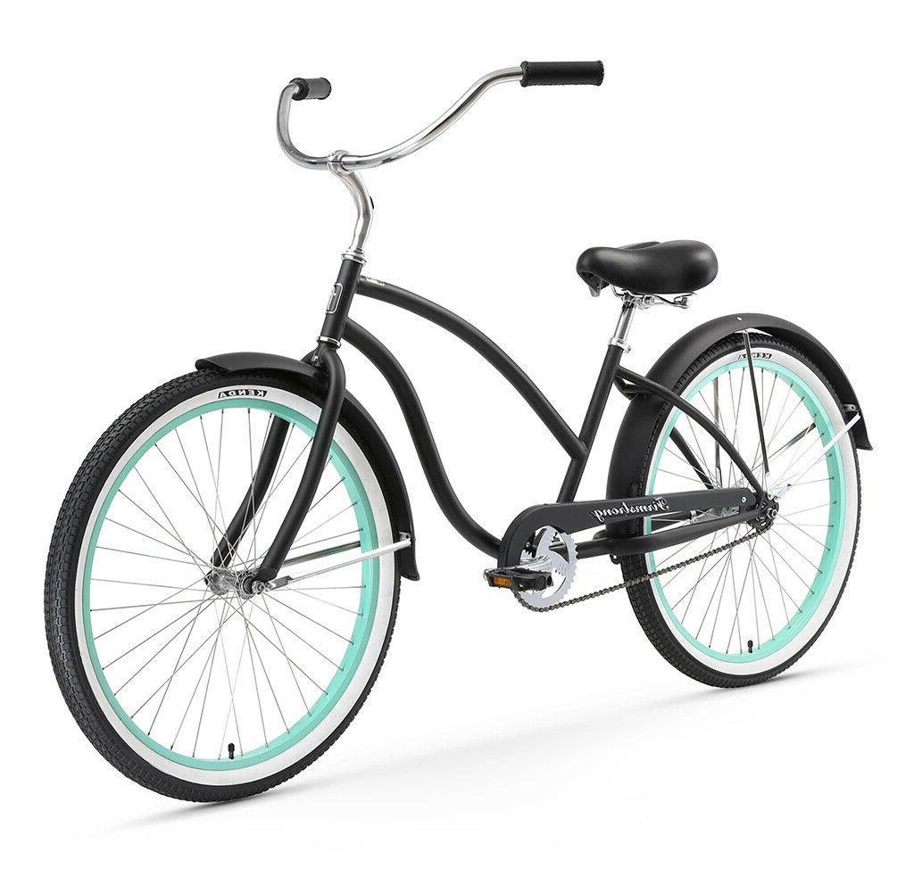 26 oversize cruiser bike w forward crank