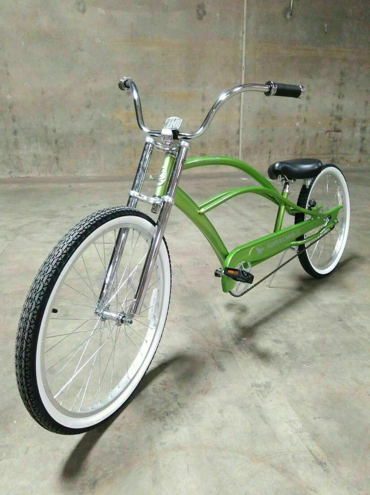 RED Stretch Beach Cruiser 68 Rims Coaster Bike PUMA