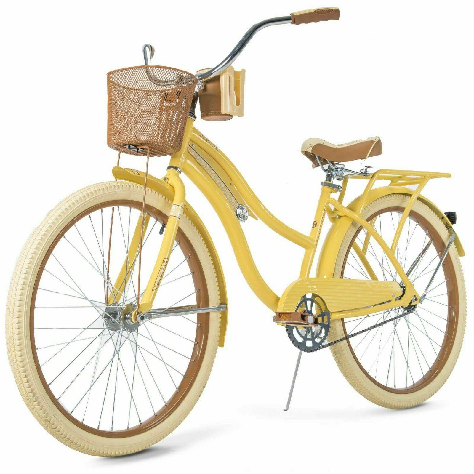 26 womens bike with basket nel lusso