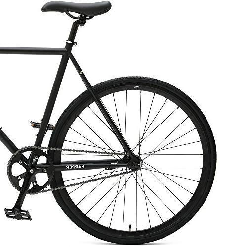 Critical Cycles 2900 Harper Coaster Fixie Single-Speed Commuter Bike Brake, Black