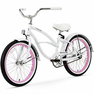 Firmstrong Urban Girl Single Speed Beach Cruiser Bicycle, 20
