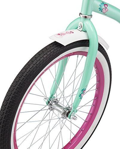Schwinn S2367B Polo Mint, wheels