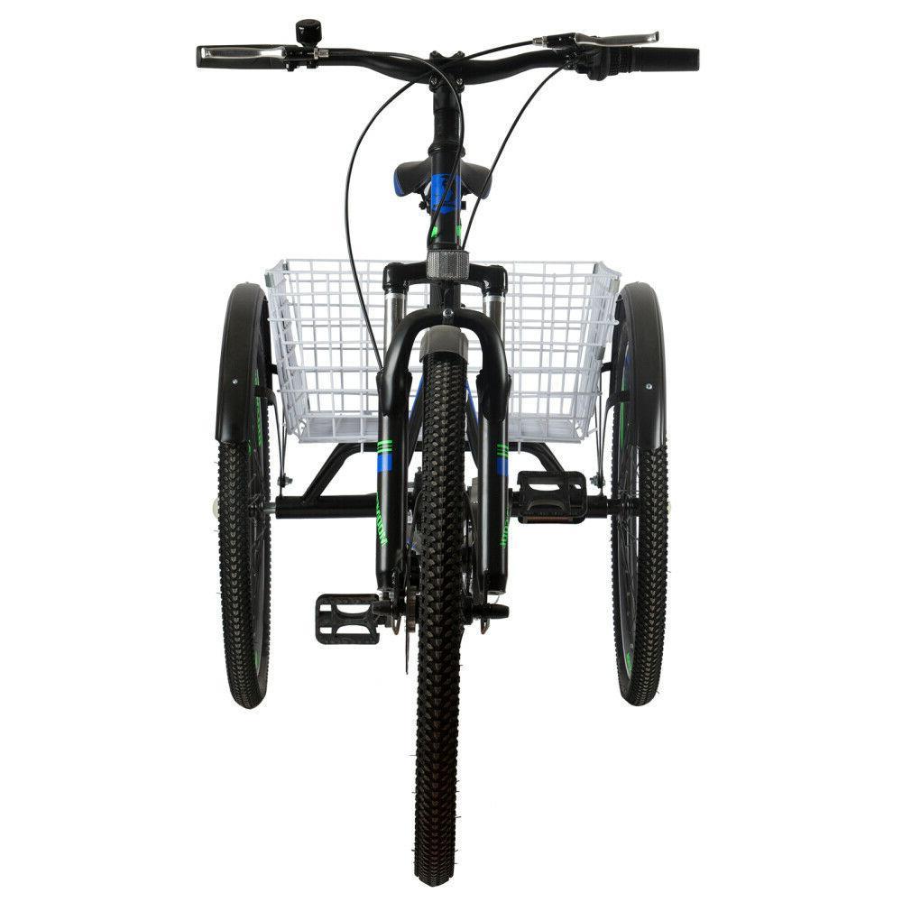 7 Speed 3 Bike w/Cargo Basket