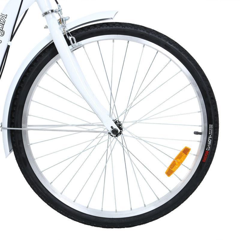 "Ridgeyard Adult 26"" Tricycle 7-Speed Trike Bicycle Bike Cruise"