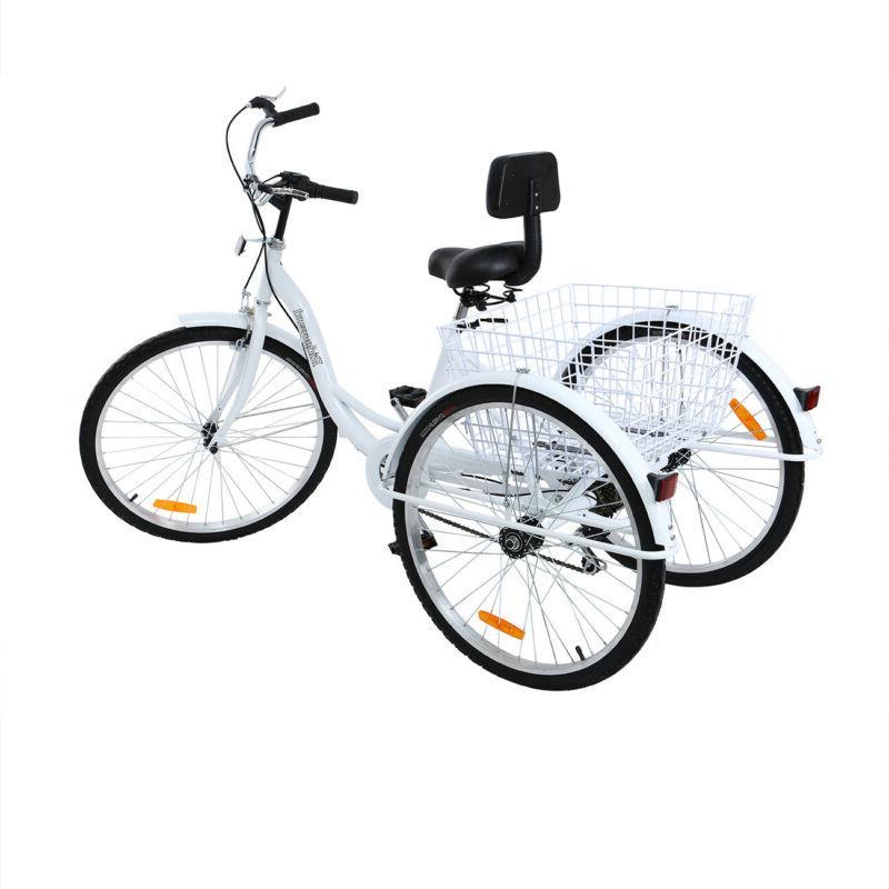 Ridgeyard Adult Tricycle Trike Bicycle Bike